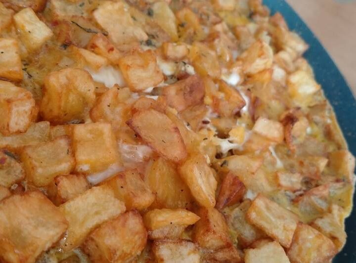 Patatesli Yumurta-Yumurtalı Patates